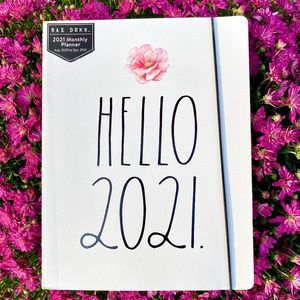 Rae Dunn 2021 - 17 Month Planner/Calendar/Notebook